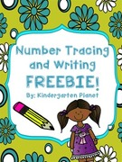 Number Tracing and Writing.