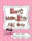Love Monster ABC Order.