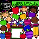 School Favorites -Creative Clips Digital Clipart., Teacher I