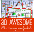 30 Awesome Christmas Games for Kids.