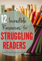 12 Incredible Resources for Struggling Readers.