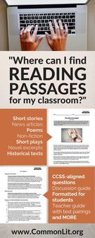Where Can I Find Reading Passages For My Classroom.