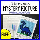Mystery Picture - Multiplication Facts.