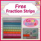 Free Fraction Strips.