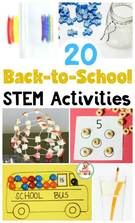 23 Amazingly Fun STEM Activities for Back to School.