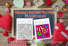 Valentine's Day Color Key Multiplication.
