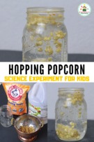 Dancing Popcorn Experiment Perfect for Thanksgiving!