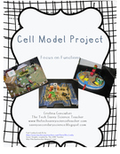 Cell Project. Focus on Function not your typical parts of the cell project.