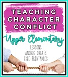 Teaching Character Conflict., Teacher Idea