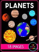Planets Clip Art., Teacher Idea