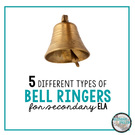 5 Types of Bell Ringers to Incorporate into the Secondary ELA Classroom.