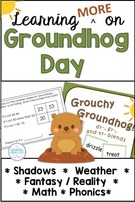 Groundhog Day Activities Integrate Into Your Own Curriculum.