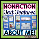 About Me Lapbook With Nonfiction Text Features.