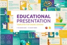 Free Educational Presentation Templates for Online Lessons. from graphicmama.