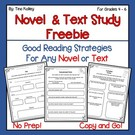 Reading Comprehension Activities for Any Text.