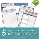 5 Ways Get Your Middle School Students Excited About Reading