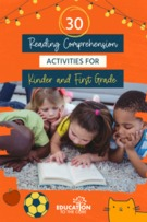 30 Reading Comprehension Activities for K/1.