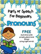 Parts of Speech for Beginners.